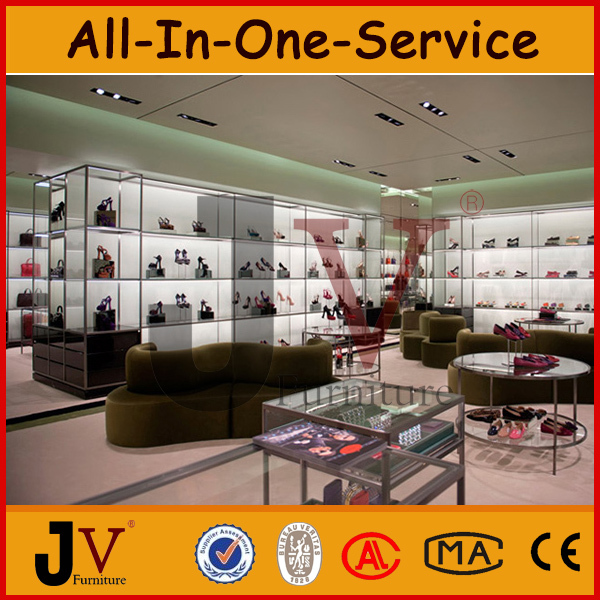 Lady Footwear Store Furniture Design For Shoes