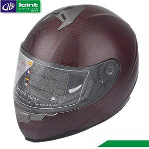 Carbon Fibre Material ECE/DOT Motorcycle Full Face Helmet