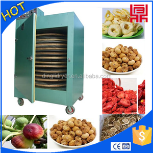 Small rotation vegetables dry dehydrator moringa drum dryers china food machinery