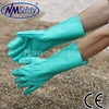 NMSAFETY Green industrial household nitrile chemical gloves