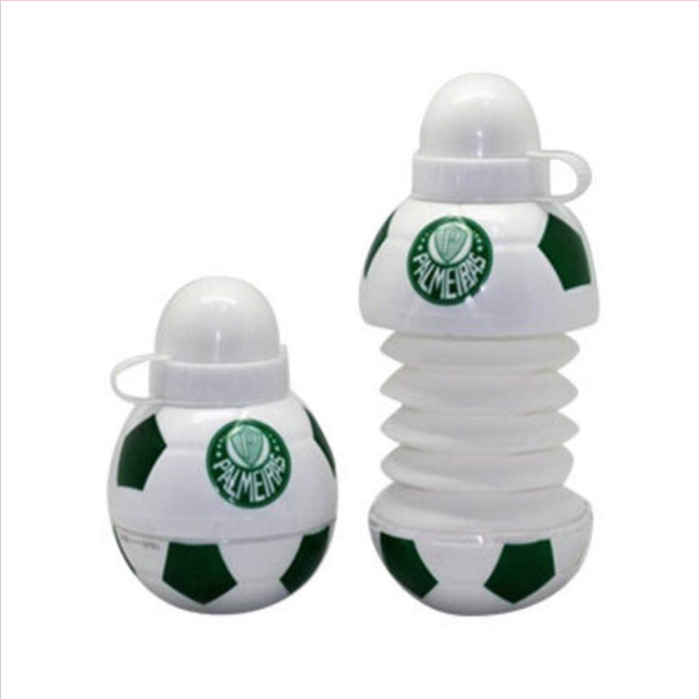 New Arrival Plastic Basketbal Watermelon Football Shaped Telescopic Cups Sport Kettle Cup