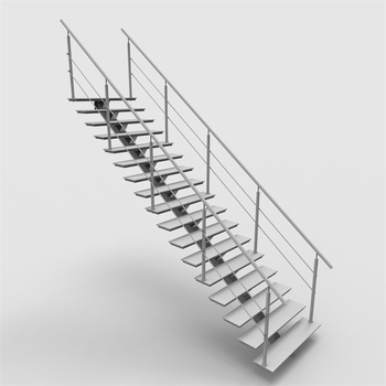 Diy Install Mono Stringer Staircase With Factory Price - Buy Mono Stringer  Staircase,Factory Price Stringer Staircase,Indoor Wooden Staircase Product