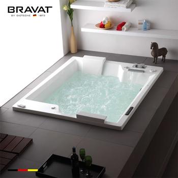 Corner 2 Person Bathtub Whirlpool Shower Spa Bath Product B25823DW 8W