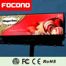 Alibaba good price Electronic full color advertising signs / Outdoor commercial advertising led display