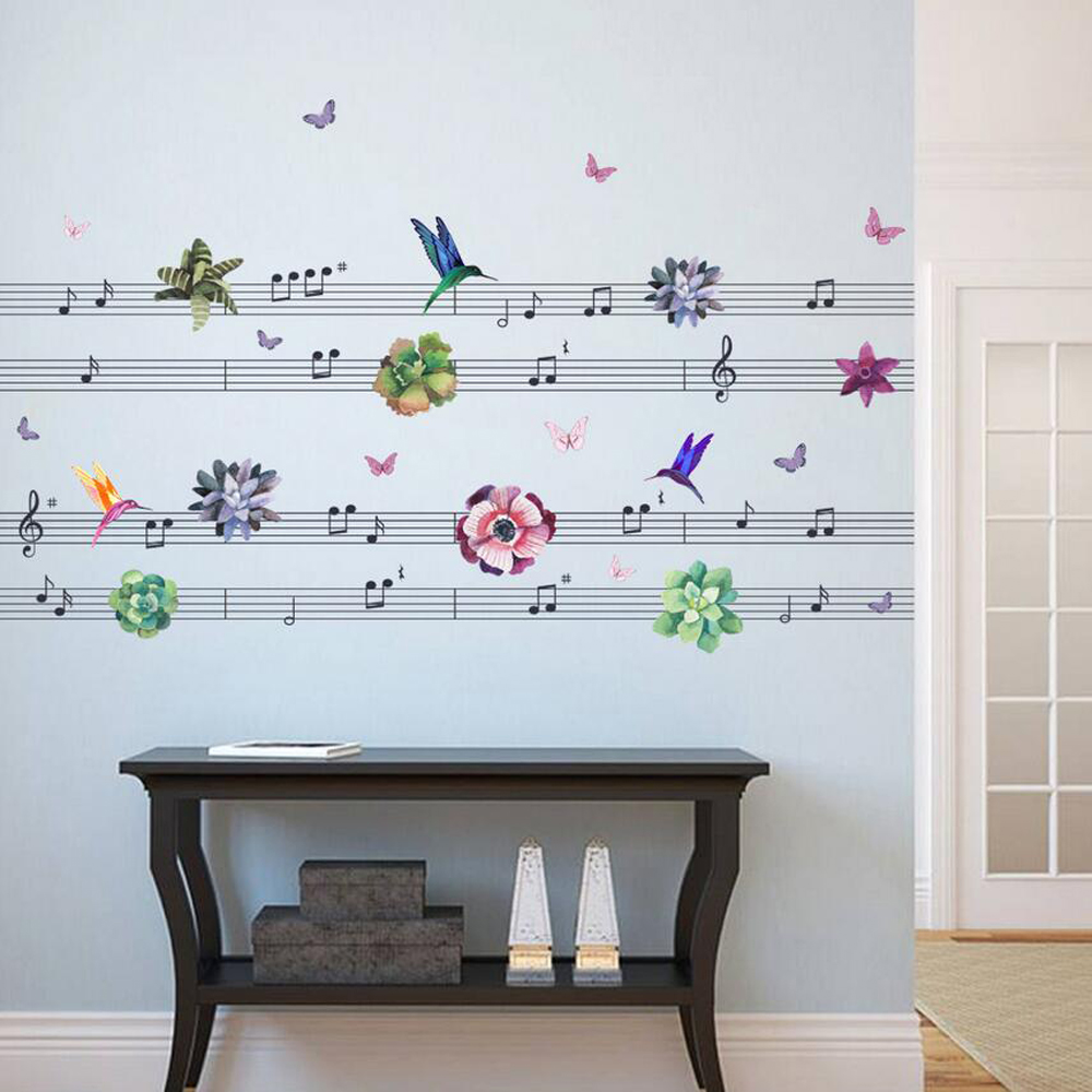 Living Room 3d Music Note Wall Art Stickers   Buy Wall Art Stickers,3d Wall  Stickers,Music Wall Stickers Product On Alibaba.com