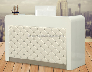 High quality fashion design europe style reception desk/table with diamond ZY-CT020