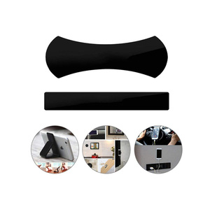 Folding Flexible Mobile Phone Holder Adhesive Washable Rubber Multi Use Car Wall Phone Holder