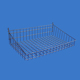 store rack accessory grid wall hanging metal wire display basket