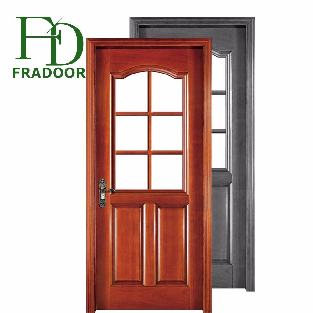 House door model open inside casement window wood door with knobs and locks