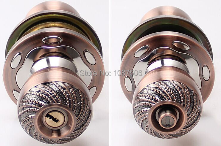 New arrival luxury elegant interior door lock living room - Bedroom door knobs with key lock ...