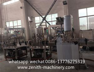 Plastic Bottle Carbonated Orange Soda Rinser/Filler/Capper Canning Machine/Plant