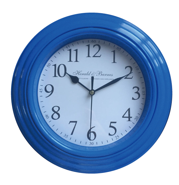 10 Inch Cheap Plastic Round Shape Quartz Movement Wall Clock