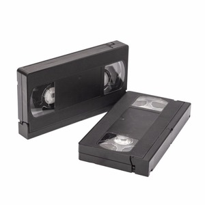 black Light VHS T120 video cassette tape with tab in