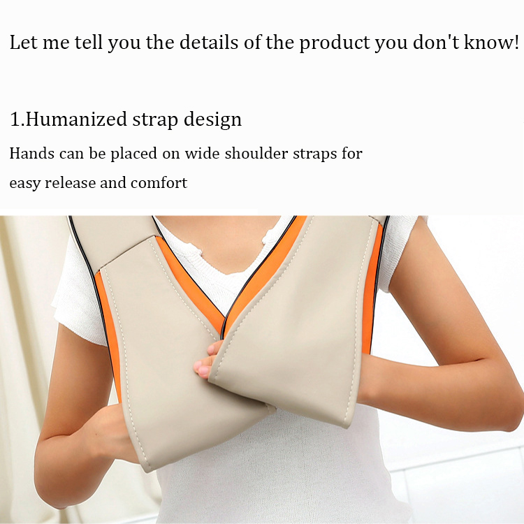 Neck Shoulder Irest Massage Belt Back Pain Relief Massage Belt