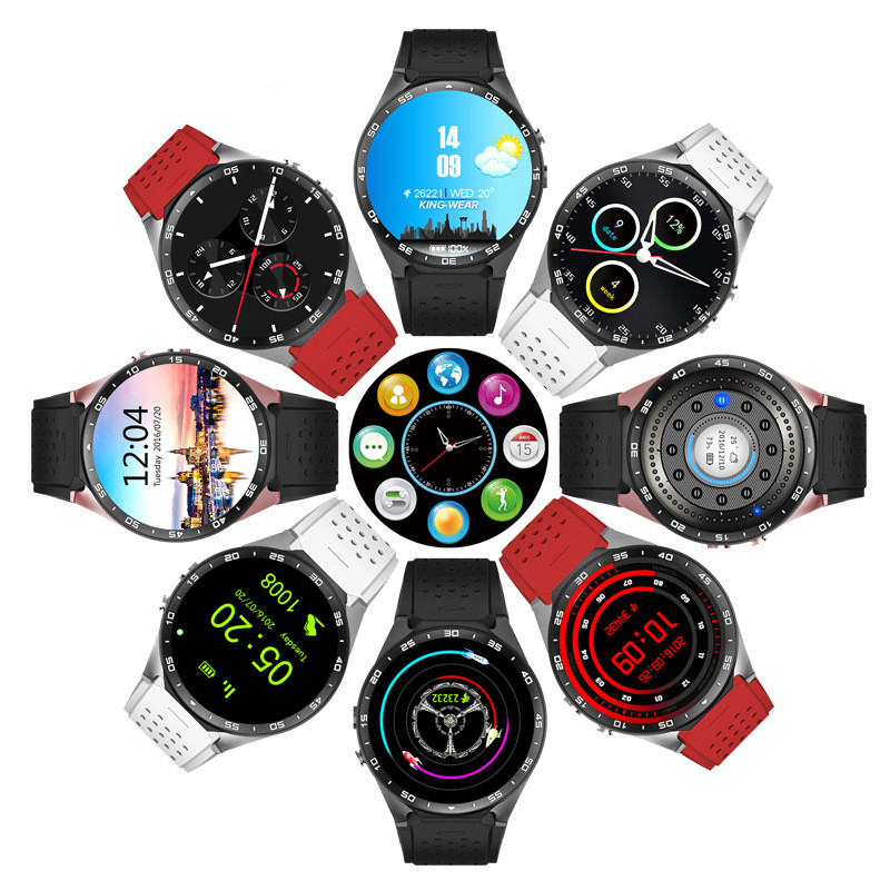 China manufacture a18 smart watch bluetooth phone KW88 waterproof dz09 heart rate monitor smart watch