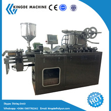 Fully automatic mini air freshener perfume liquid filling and foil seal packing machine for car