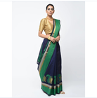 Factory OEM latest Indian women's luxury saree and blouse