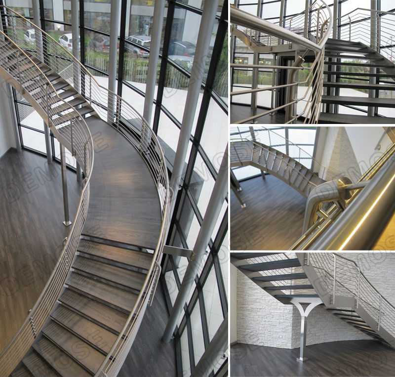 Steel Stairs Lift Design For Outside