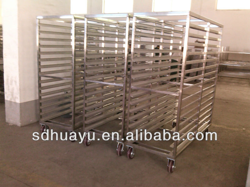 Stainless steel 304 plate trolley for workshop