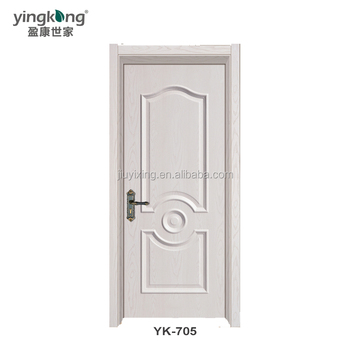 Teak Wood Door Frame / Pvc Door With Very Lower Price Yk-705 - Buy ...