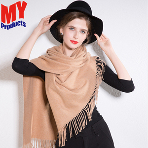 Wool reversible scarf cream cable knit scarf india pashmina scarves