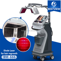 Manufactuer supply!hair growth expert diode laser 670nm for hair regrowth and hair loss therapy