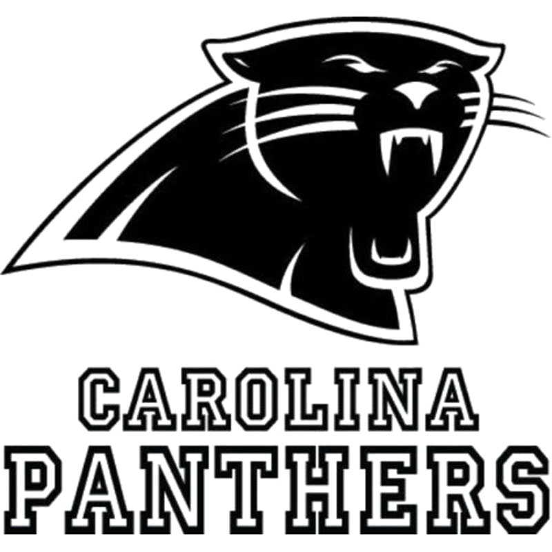 Black panthers football logo