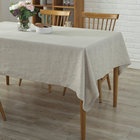 customer size multi color table clothes 100% Pure Linen Table cloth