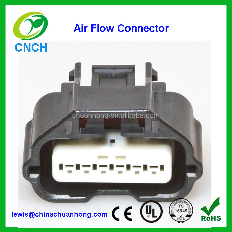 6 Way housing Nissans Infiniti MAF Mass Air Flow Meter Connector 350Z 370Z R35 GT-R V35 V36 V357 Infinity G35 G36 G37