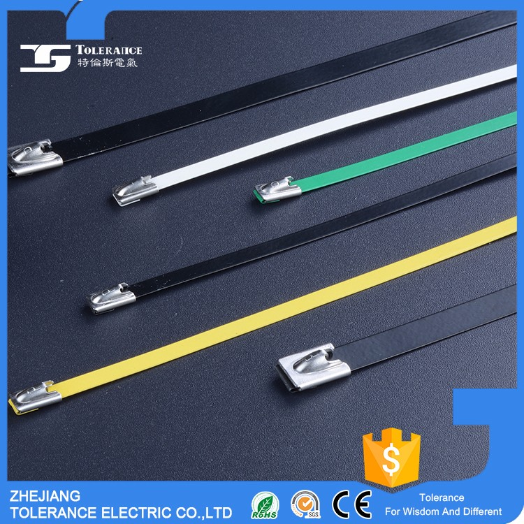 Uv Resistant Pvc Coated Stainless Steel Cable Wire Tie - Buy Wire ...