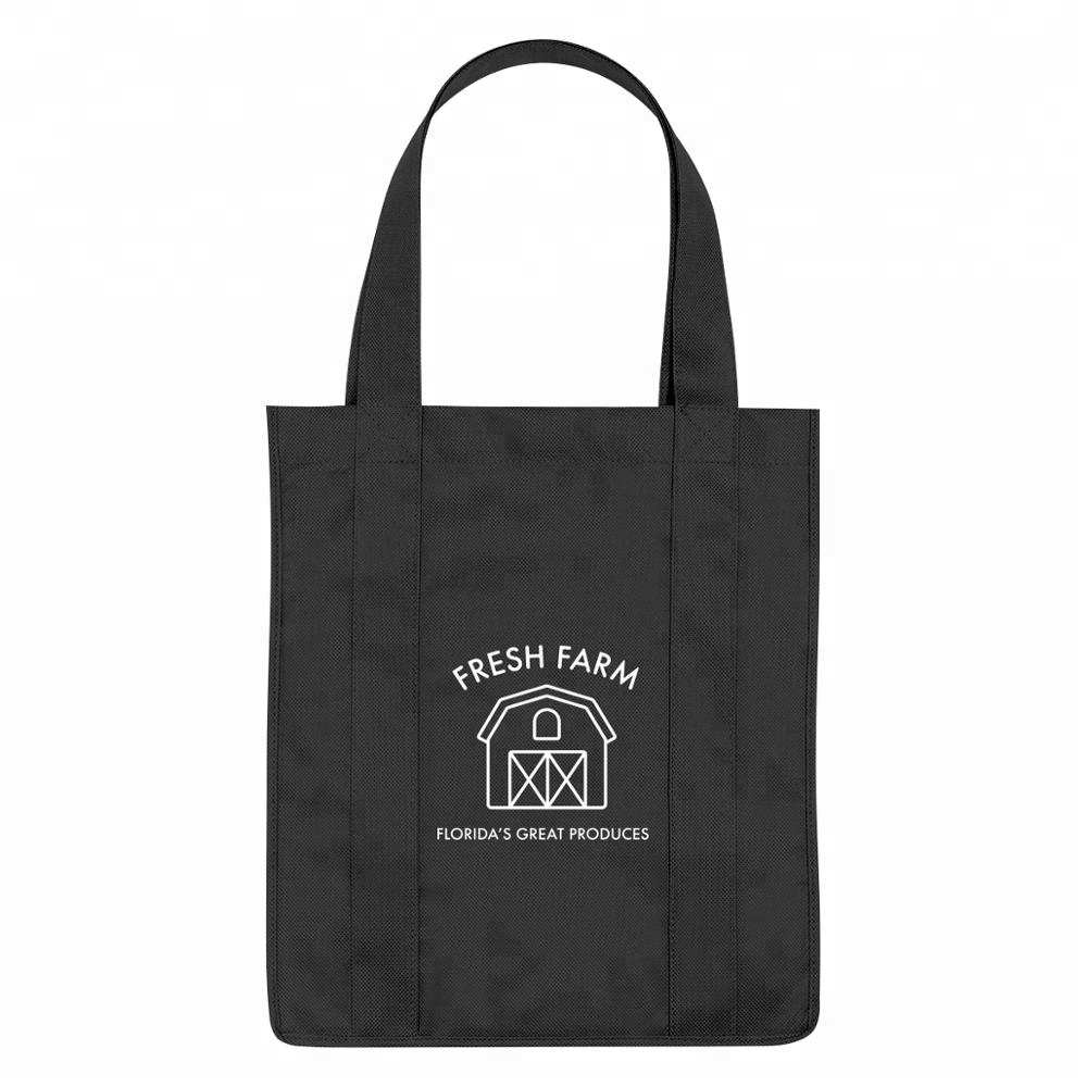 wholesale cheap <strong>eco</strong> friendly tote custom fabric bags with logo