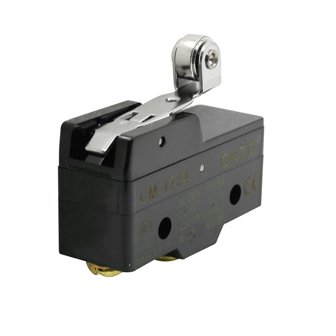 Baomain CM-1704 SPDT Momentary Roller Hinge Lever Arm Limit Switch Micro Switch