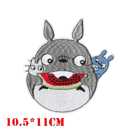 Oversize My Neighbor Totoro Anime Cloth Patch Cheap Price Promotional