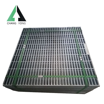 Metal processing custom products drain concrete drainage grating covers