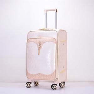 Pu Colourful Assoda Trolley luggage Bag Wholesale cc442a350eea8
