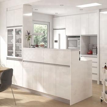 Vegas Cucine China Lieferant Weiß Pvc Modulare Moderne Küche Pantry ...