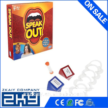Funny happy party games for people board game Speak Out Game