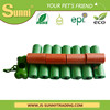 Recyclable HDPE plastic pet poop bag dispenser