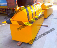 Custom size concrete road barrier traffic road barrier hydraulic road blocker for government gate