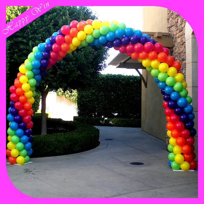 2016 Customized Shape New Style Top Sale High Quality Latex Balloon Arch for Advertising