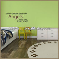Word quote and saying wall decoration sticker WS129