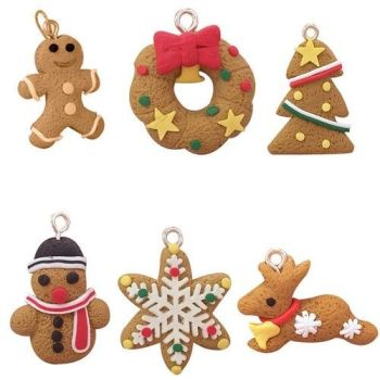 gingerbread man ornaments deer snowman christmas tree pendant decors am238