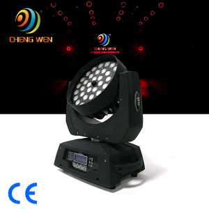 Stage Led Lighting 4in1 Rgbw Dmx Wash Zoom 36pcs 10w Led Moving Head for party