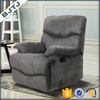 BJTJ grey one person seat living room fancy recliner sofa 70156