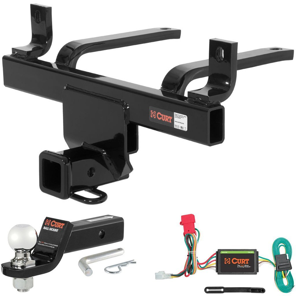 """CURT Class 3 Hitch Tow Package with 2-5/16"""" Ball for Subaru B9 Tribeca, Tribeca"""