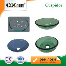 High Quality Dental Spare Parts Supply Thick Glass Spittoon Cuspidor Prevent Spills For Dental Unit Chair CX