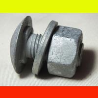 venus highway guardrail galvanized bolt, nut and washer