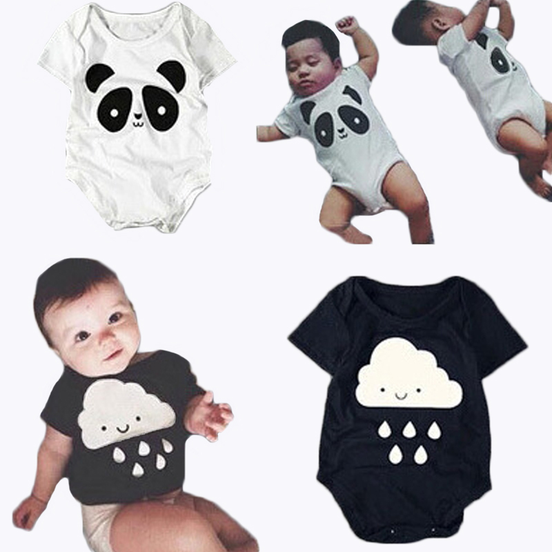 4c8aec77c Buy Baby One Piece Jumpsuit Summer Infant Baby Panda Print Romper ...