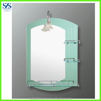 Chine Miroir Usine Double Couches Intelligent De Salle De Bains Miroir Avec Etagere Buy Miroir Intelligent De Salle De Bains Salle De Bains De