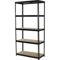 heavy duty rivet boltless shelving/Iron metal storage slotted angle